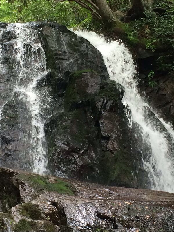 Waterfall at The Great Smokey Mountains in Gatlinburg, TN
