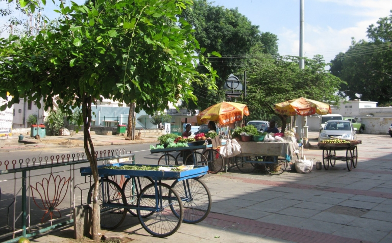 1.-Trees-provide-shade-for-all-including-vulnerable-groups-such-as-street-vendors-in-Bangalore Harini Nagendra the nature of cities